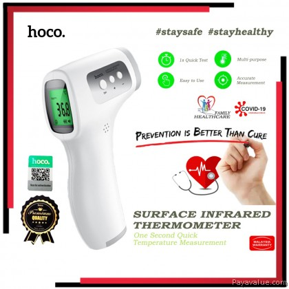 HOCO  Original Infrared Thermometer YQ6 Premium Quality Big LCD Screen Display High Precision Sensor Family Healthcare