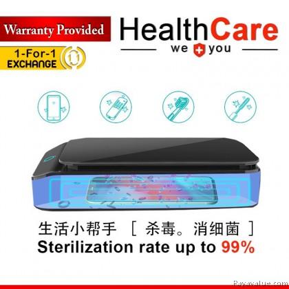 ReadyStock[B2B] Imported Portable UV LED Sanitizer UVC Phone Disinfection Box with USB Charging Box