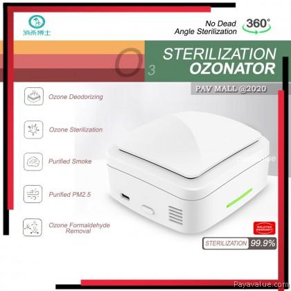 Car Use  New Sterilization Ozonator X1 Portable Box Ozone Deodorizing Air Purifier PM2.5 Car Home Bedroom Cabinet