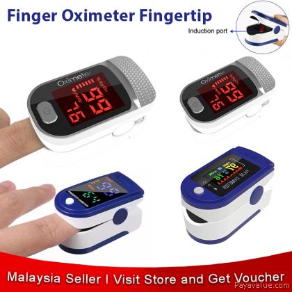 Finger Oximeter Fingertip Pulse Oximeter Heart Rate Spo2 Monitor Oxygen Meter LED TFT OLED PR Pulsoximeter Medical